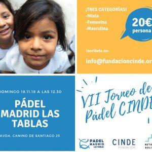 VII TORNEO DE PÁDEL CINDE