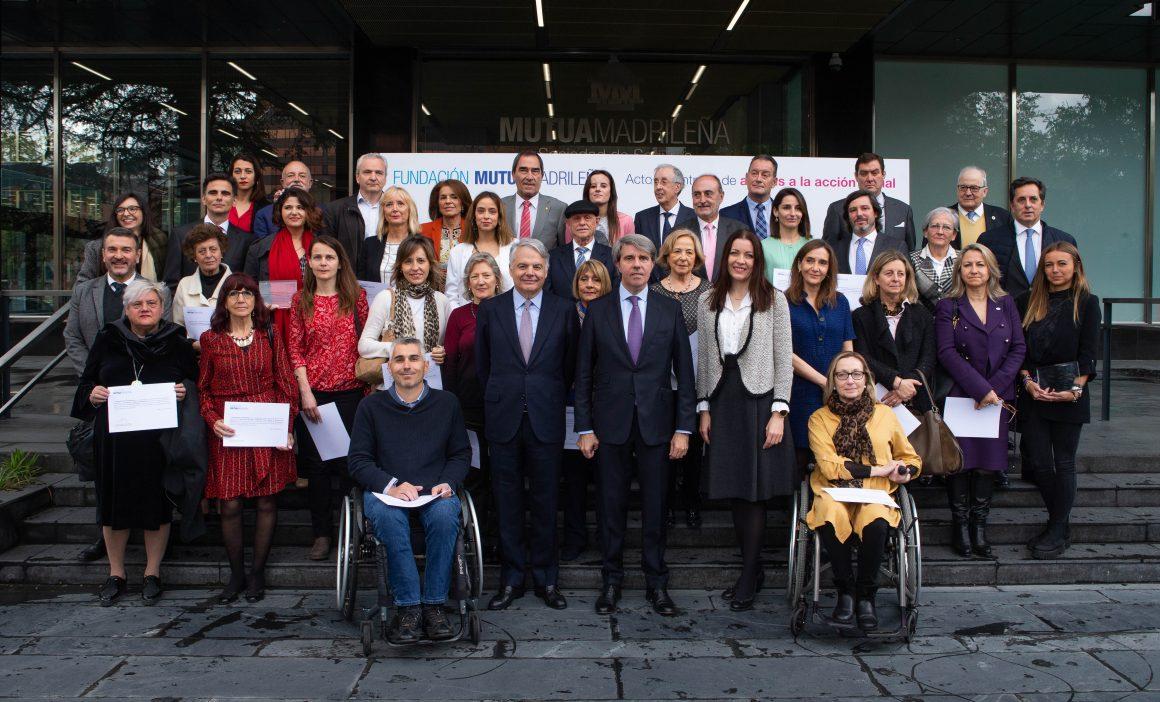 CINDE RECOGIÓ LA AYUDA QUE OTORGA FUNDACIÓN MUTUA MADRILEÑA A PROYECTOS DE ACCIÓN SOCIAL