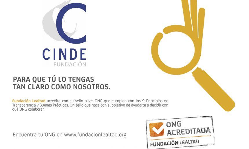 FUNDACIÓN LEALTAD NOS RENUEVA EL «SELLO ONG ACREDITADA»
