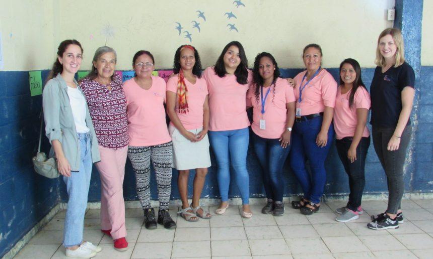 NUESTRA COMPAÑERA BEATRIZ DE VISITA EN EL SALVADOR