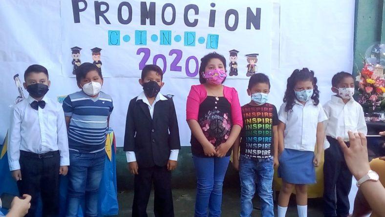 GRADUACIÓN NIÑOS DE PARVULARIA